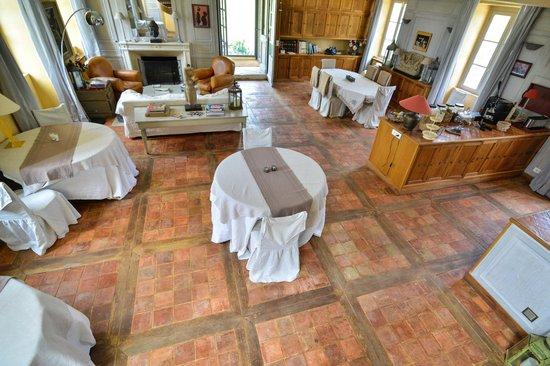 Charmilles des Cordeliers : Salle du petit déjeuner