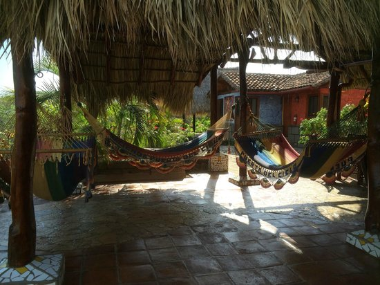Hacienda Puerta Del Cielo Eco Spa: best place to hang out with a good book