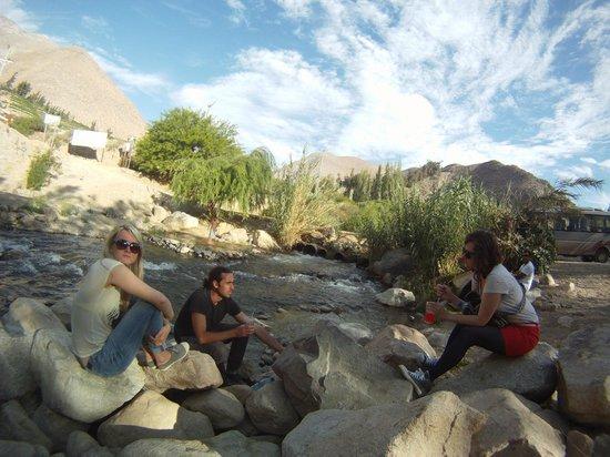 Backpackers La Serena: río cochiguaz