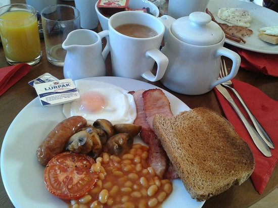 Marlborough Guest House: Full english Breakfast