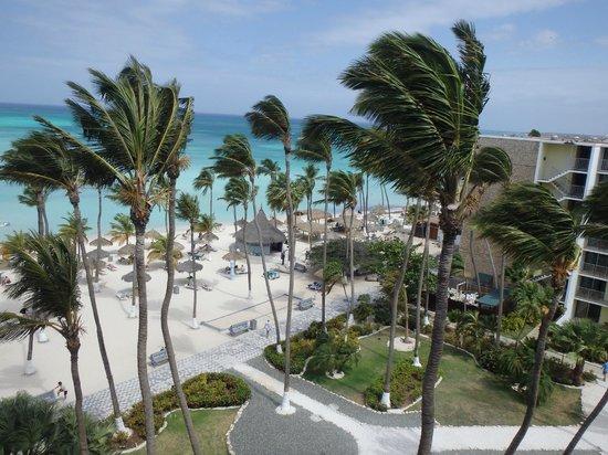 Holiday Inn Resort Aruba - Beach Resort & Casino: View from my room