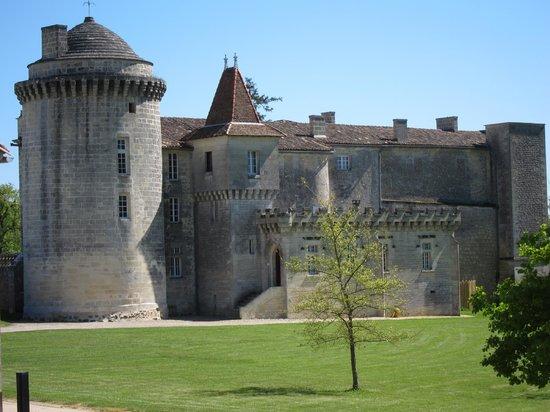Bordeaux a Velo : Chateau near Saint Emilion