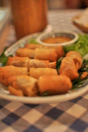 Cabbages & Condoms : Spring rolls