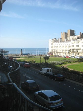 Brighton House: View from room