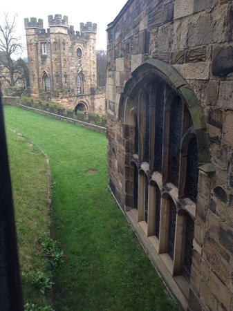 Durham Castle: View from our room