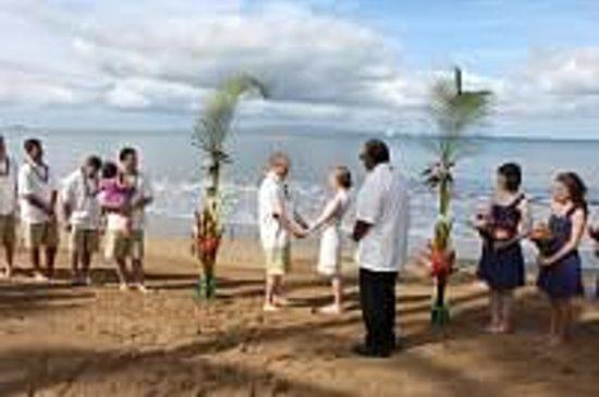 Kihei Kai Oceanfront Condos: Wedding at Kihei Kai