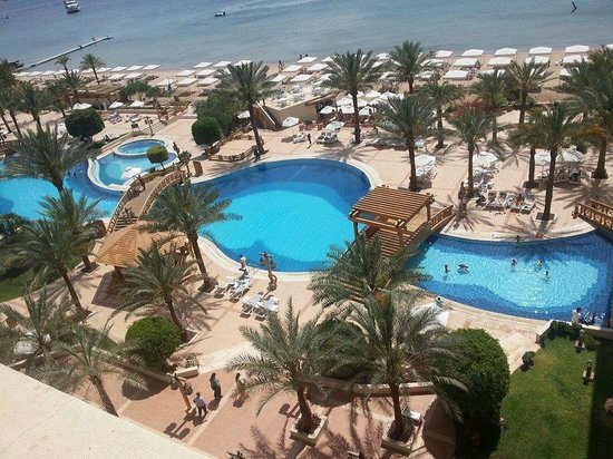 InterContinental Aqaba Resort: View from my room (5th floor) - 3