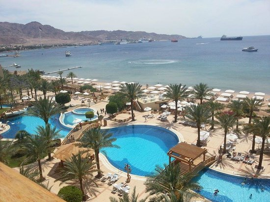 InterContinental Aqaba Resort: View from my room (5th floor) - 2