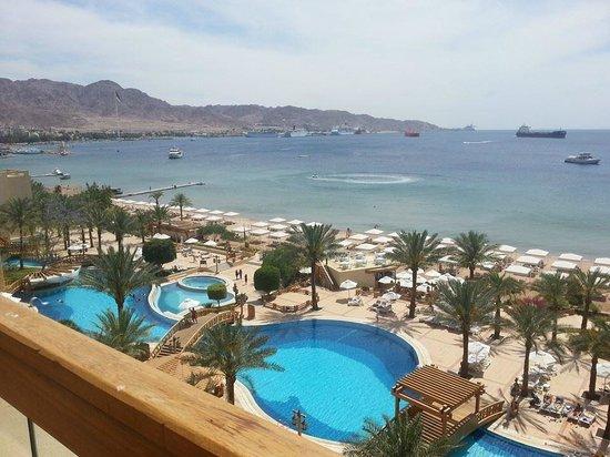 InterContinental Aqaba Resort: View from my room (5th floor) - 1
