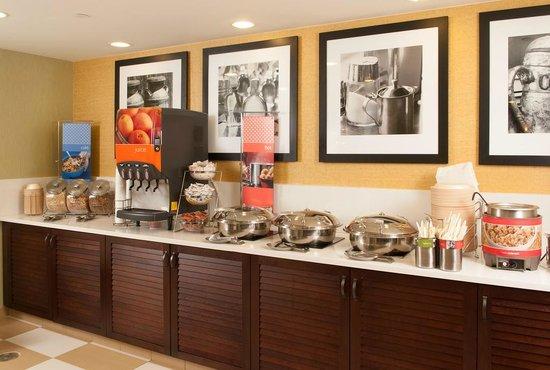Hampton Inn Atlanta - North Druid Hills: Breakfast is on us. Enjoy hot and fresh items each morning.