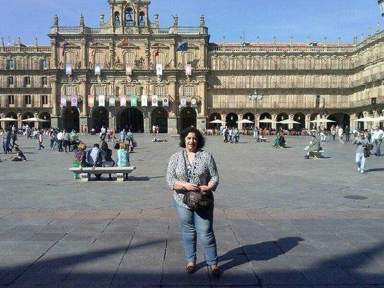 Plaza Mayor: Yo en la Plaza
