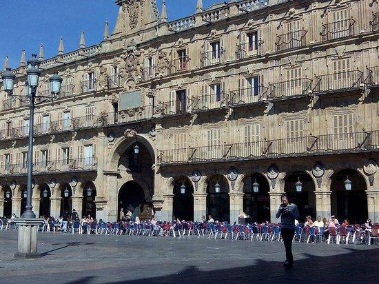 Plaza Mayor: Una de las entradas a la PLaza