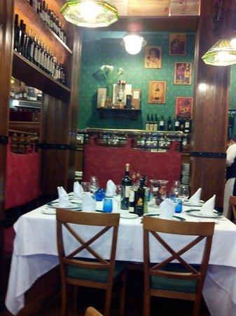 Casa Paca Restaurante: Detalle de la mesa