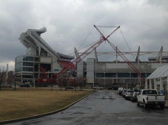 FirstEnergy Stadium: Brown's Stadium Under Construction