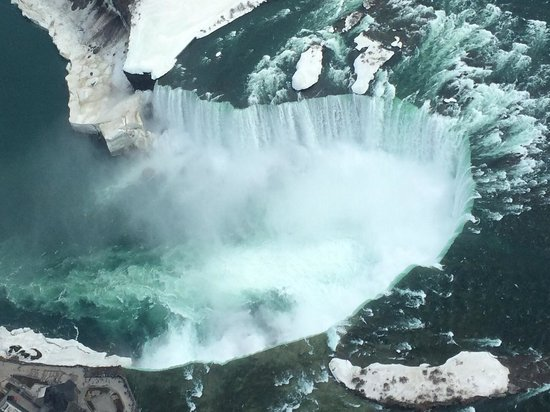 National Helicopters - Niagara Falls Heli-Tours : Fantastic views