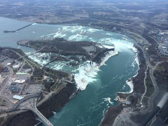 National Helicopters - Niagara Falls Heli-Tours: Fantastic views