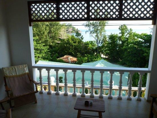Villa Anse La Blague: Vue du balcon