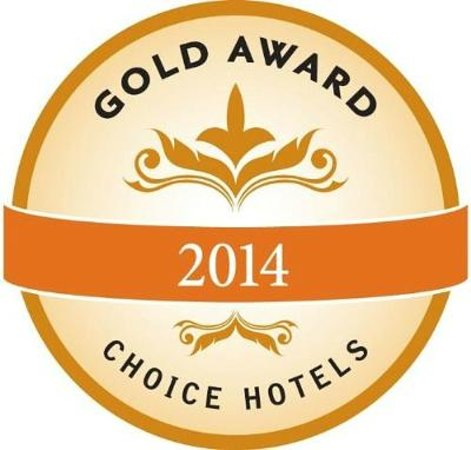 Quality Inn Ridgecrest 2014 Gold Award Winner Choice Hotels
