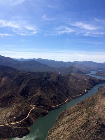 Desert Splash Adventures: View from plane