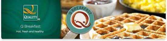 Quality Inn : Q Breakfast
