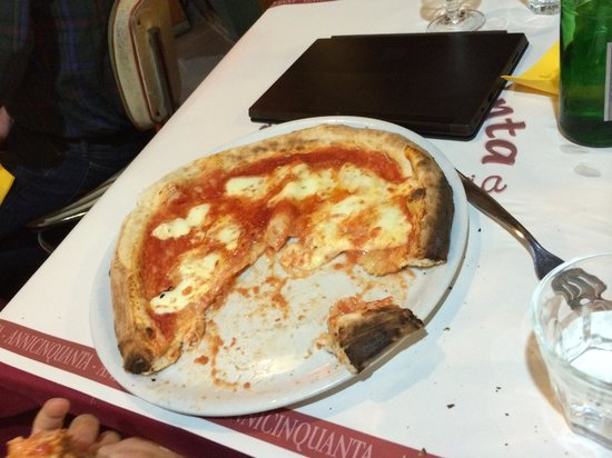annicinquanta: Cheese pizza without basil.