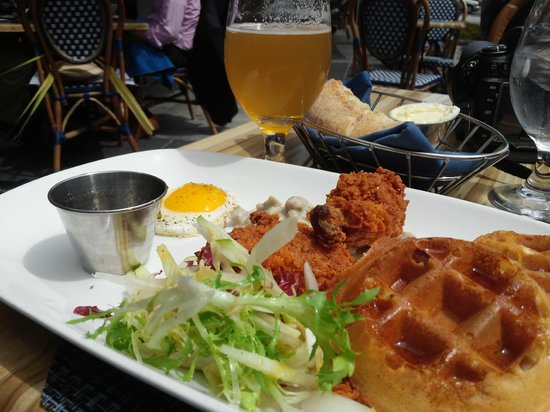 Brasserie Beck: pretty tasty brunch