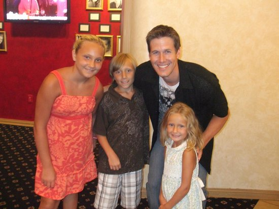 Historic Savannah Theatre : Precious Grandchildren hanging out with outstanding role models
