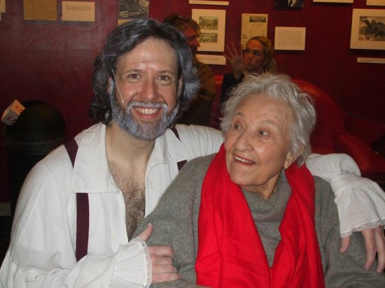 Historic Savannah Theatre : my 91 year old mother stole Jean Valjean from me