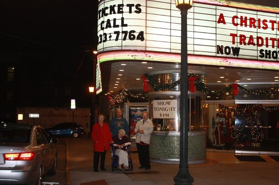 Historic Savannah Theatre : Merry Christmas Mom, Aunts and Uncle