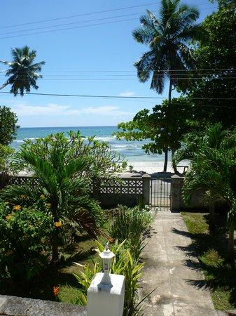 The Beach House: Vue de la terrasse