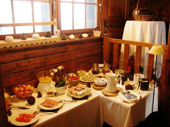 Hotel Le Green: Petit-déjeuner