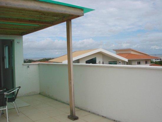 Pousada Quintas do Calhau : Terraço do segundo andar