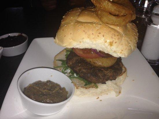 Handmade Burger Co: pepper steak burger