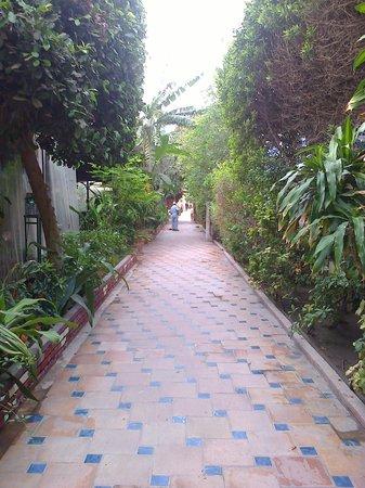 Albilad Hotel: espaces verts