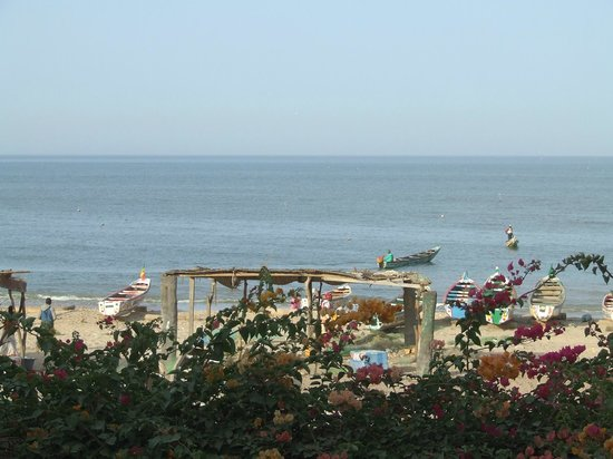 Auberge Keurmariguen : Vue sur la plage