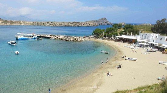 Lindos Beach: Small beach