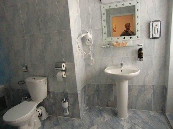 Palac U Kocku : Il bagno della mia camera