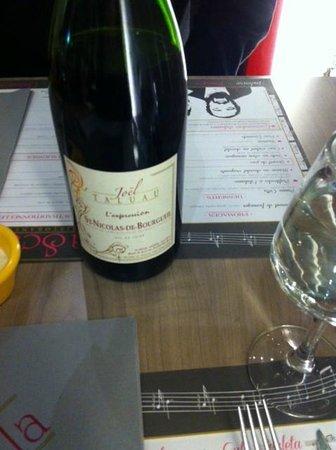 La Scala: vinho