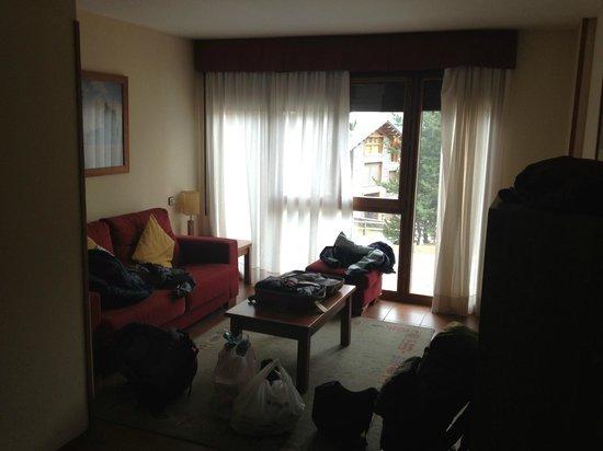 Hotel Solineu: Sala