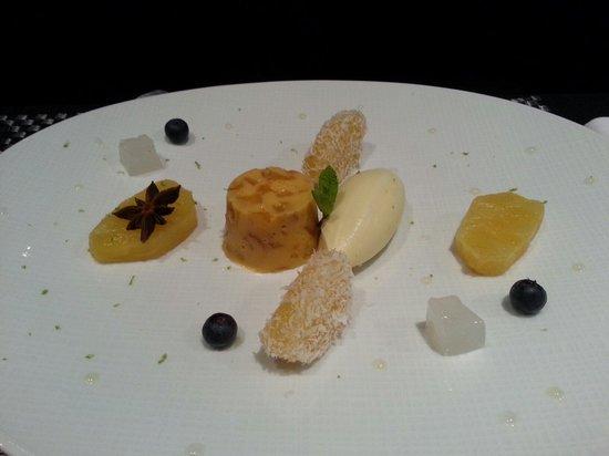 foie gras poellé avec oeuf sukiyaki style - picture of le concert