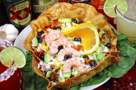 Costa Alegre Restaurant: Shrimp Salad