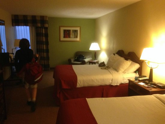 Holiday Inn Morgantown / PA Turnpike: A queen room
