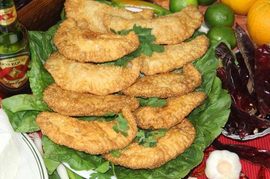 Costa Alegre Restaurant: Veggie Empanadas