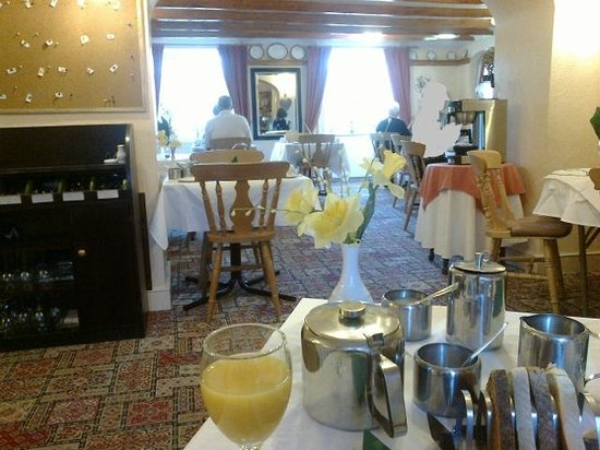 Bay Horse Inn: spotless dining room with super staff my thanks to all