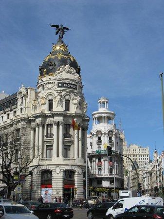 TRYP Madrid Chamberi Hotel: Innenstadt