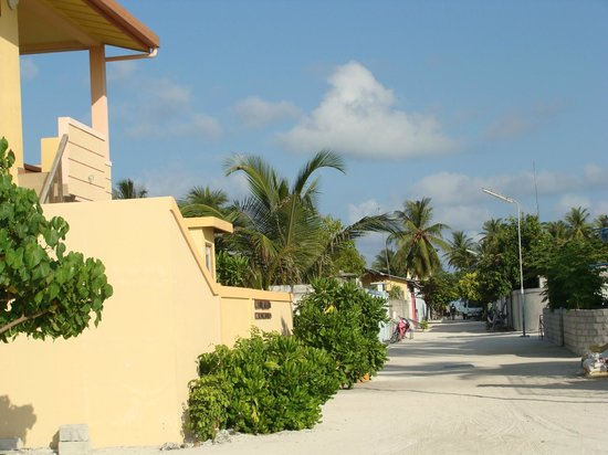 Stingray Beach Inn: Our street