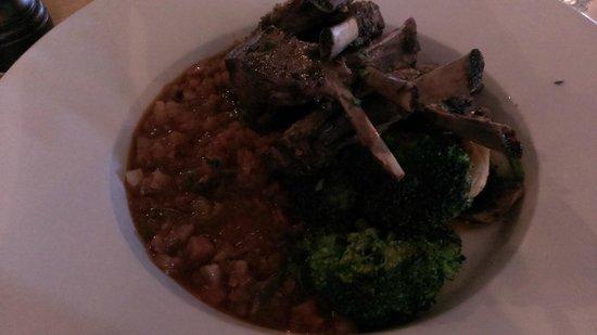 Kroa: roast lamb