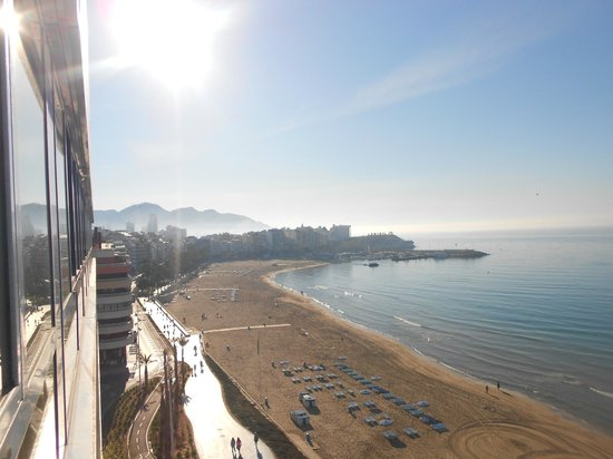 Villa Del Mar Hotel : beach view