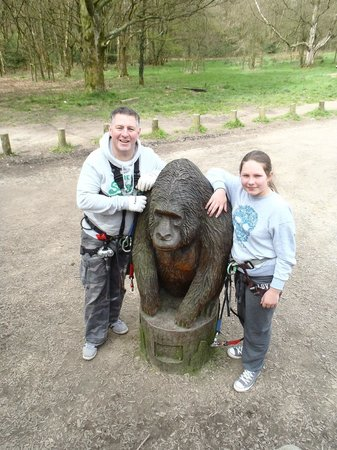 Go Ape at Rivington, Bolton: The good looking one is?