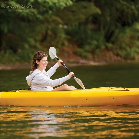 Canyon Ranch in Lenox: canoeing